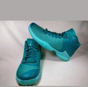 Jordan Super.Fly 4 PO Basketball Shoe Size 13 Teal
